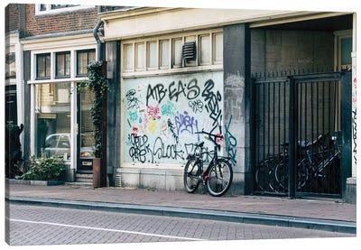 Streets Of Amsterdam Canvas Art Print