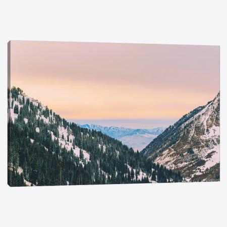 Sunset Through The Valley Canvas Print #AXT158} by Alex Tonetti Canvas Art Print
