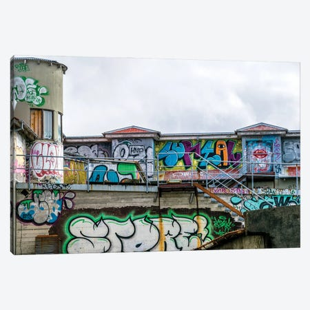 Urban Assault Canvas Print #AXT179} by Alex Tonetti Art Print