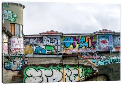 Urban Assault Canvas Art Print