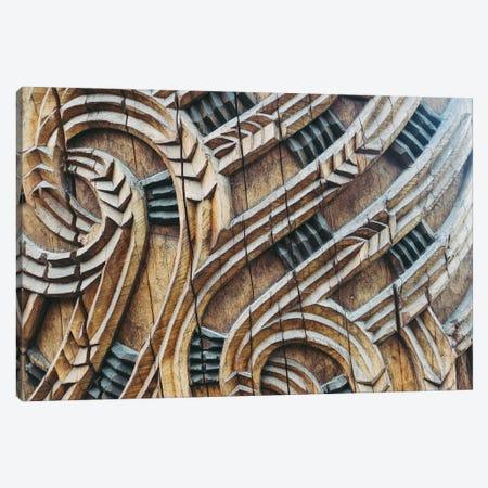 A Maori Carving Canvas Print #AXT204} by Alex Tonetti Canvas Art