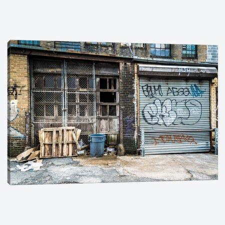 Back-Alley Canvas Print #AXT224} by Alex Tonetti Canvas Wall Art