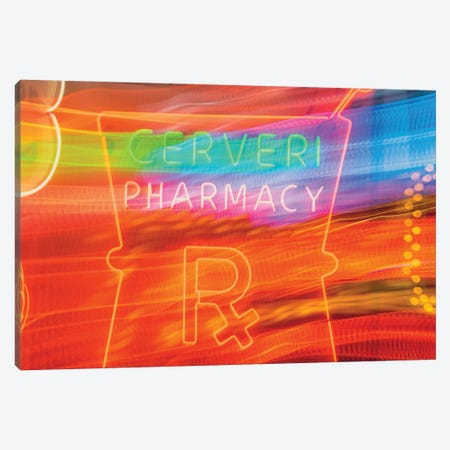 Cerveri Pharmacy Canvas Print #AXT239} by Alex Tonetti Canvas Artwork