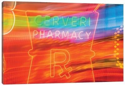 Cerveri Pharmacy Canvas Art Print