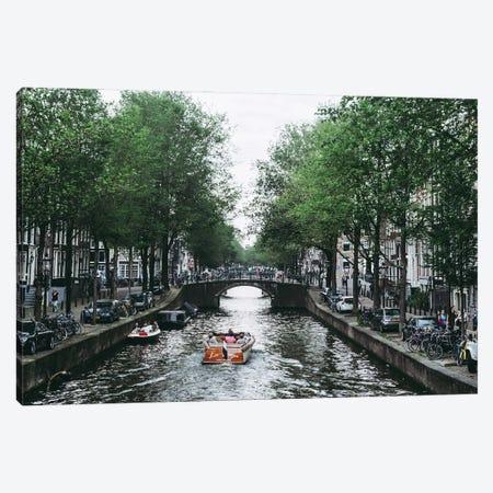 Canal Cruise Canvas Print #AXT23} by Alex Tonetti Canvas Print