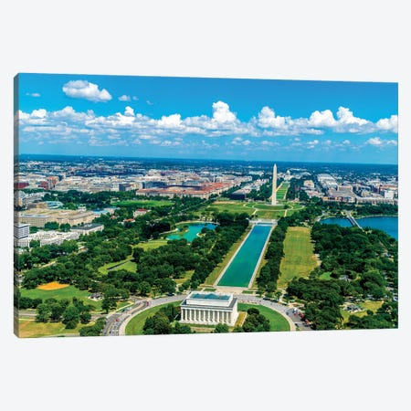 Dc From Above Canvas Print #AXT248} by Alex Tonetti Canvas Print