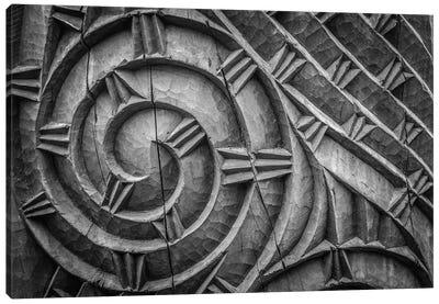 Carved Canvas Art Print