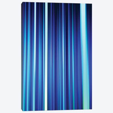 Frost Blues Led Sculpture Light Painting Canvas Print #AXT265} by Alex Tonetti Canvas Art