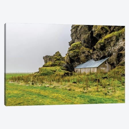 House In The Hill Canvas Print #AXT284} by Alex Tonetti Canvas Wall Art