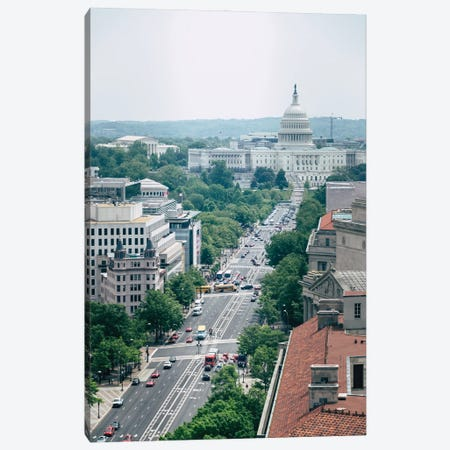 Independence Avenue Canvas Print #AXT292} by Alex Tonetti Canvas Wall Art