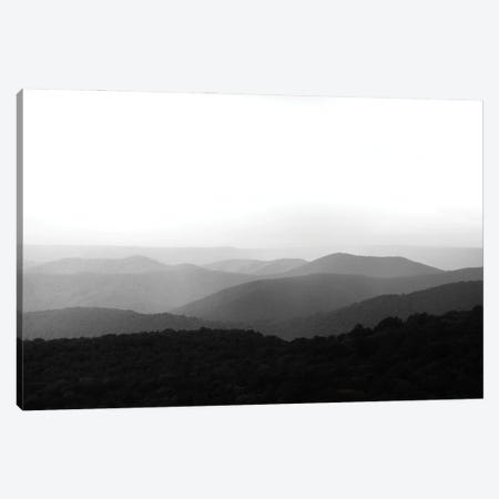 Misty Mountain Canvas Print #AXT309} by Alex Tonetti Canvas Artwork