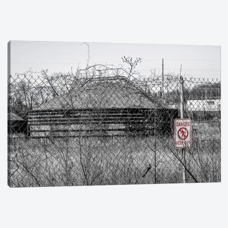 No Trespassing Canvas Print #AXT317} by Alex Tonetti Canvas Wall Art