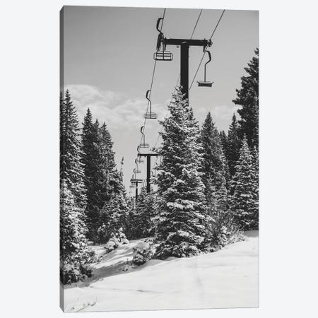 Chairlift To The Top Canvas Print #AXT31} by Alex Tonetti Canvas Art