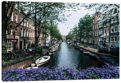 Charming Amsterdam Canvas Art Print
