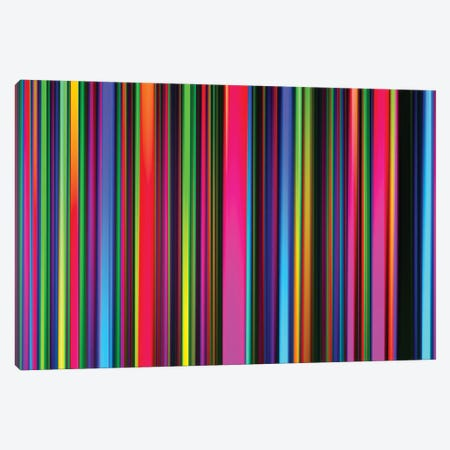 Technicolor Led Sculpture Light Painting Canvas Print #AXT358} by Alex Tonetti Canvas Print