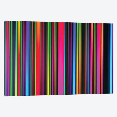 Technicolor Led Sculpture Light Painting Canvas Print #AXT358} by Alex Tonetti Canvas Print