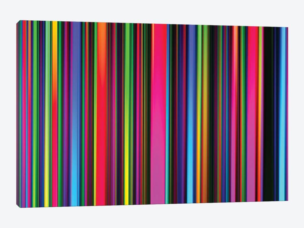 Technicolor Led Sculpture Light Painting by Alex Tonetti 1-piece Canvas Art