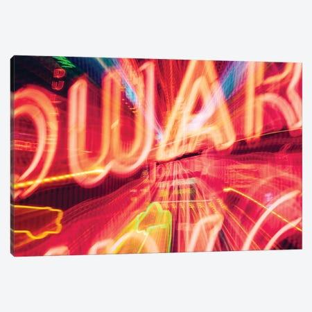 Those Neon Lights Canvas Print #AXT369} by Alex Tonetti Canvas Artwork