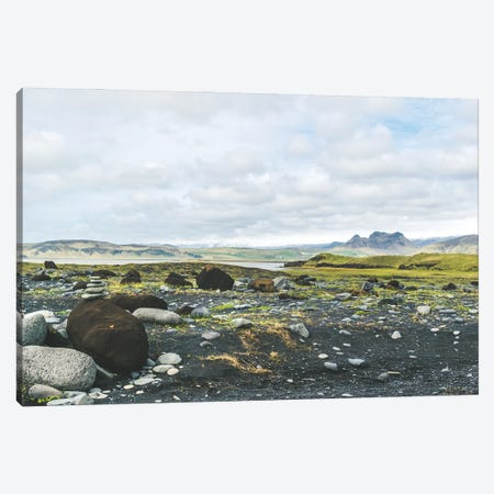 Volcanic Landscape Canvas Print #AXT380} by Alex Tonetti Canvas Artwork