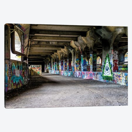 Down The Hall Canvas Print #AXT53} by Alex Tonetti Canvas Artwork