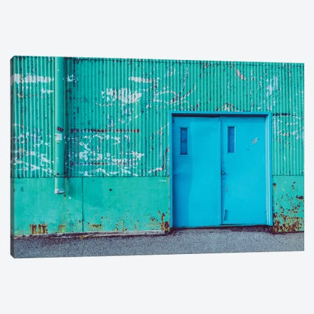 Happy Warehouse Canvas Print #AXT74} by Alex Tonetti Art Print