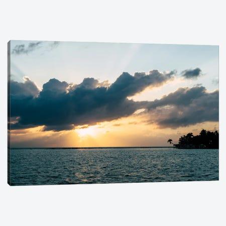 Island Sunset Canvas Print #AXT88} by Alex Tonetti Canvas Art Print