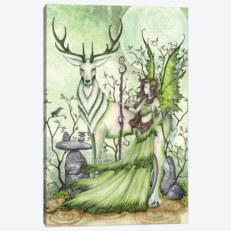 Guardian Canvas Print #AYB12} by Amy Brown Canvas Print