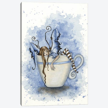 I Need Coffee Canvas Print #AYB13} by Amy Brown Art Print