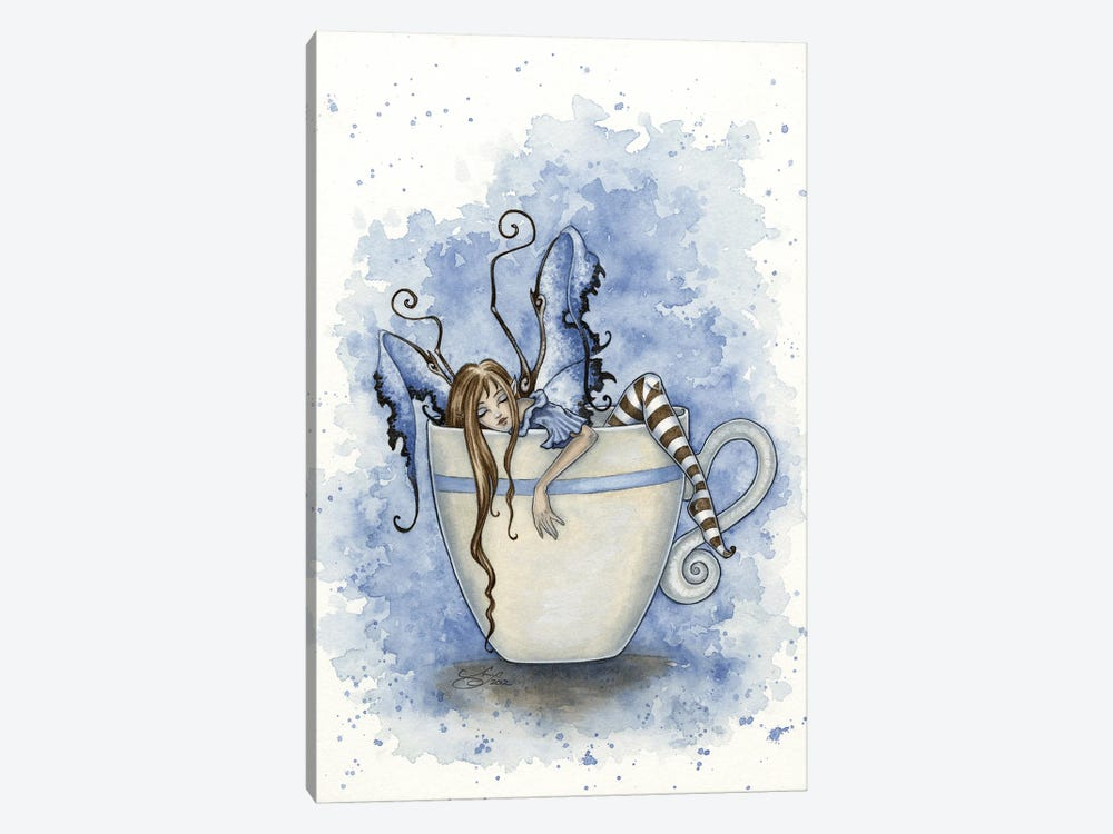 I Need Coffee by Amy Brown 1-piece Canvas Art