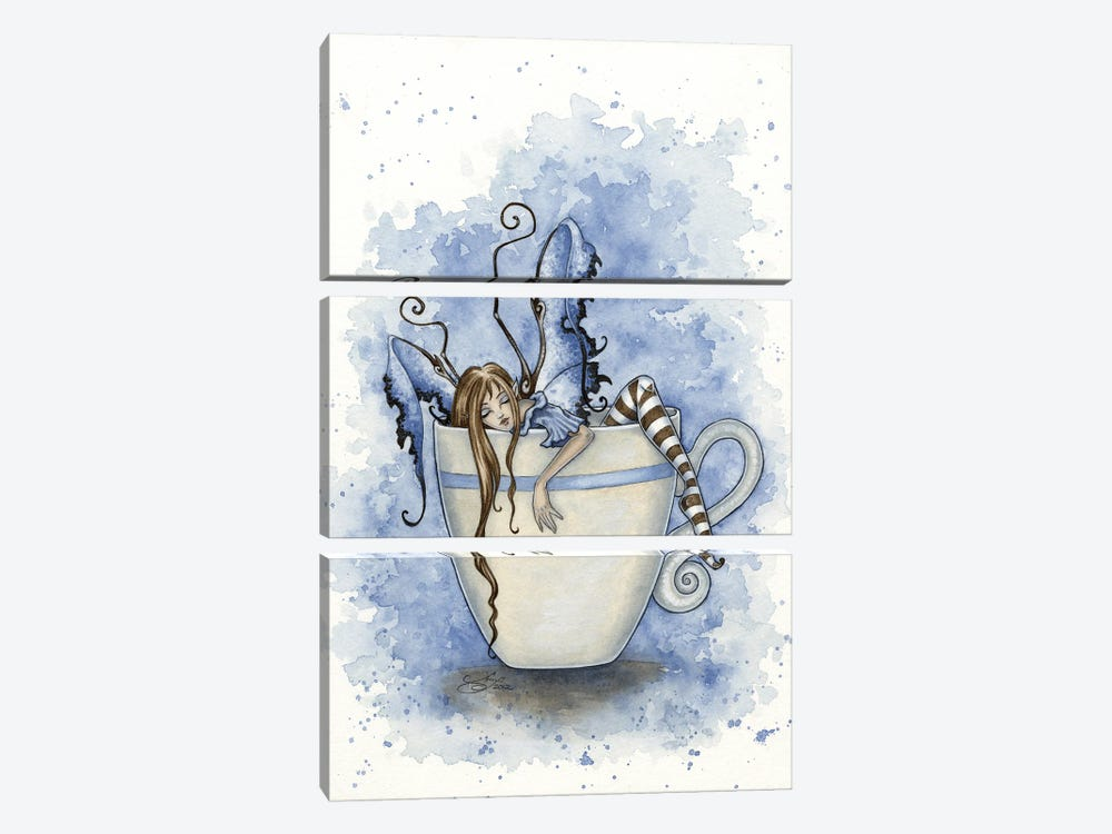 I Need Coffee by Amy Brown 3-piece Canvas Artwork