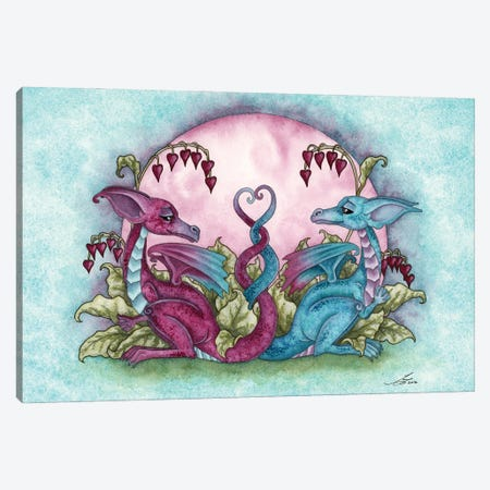 Love Dragons Canvas Print #AYB15} by Amy Brown Canvas Artwork
