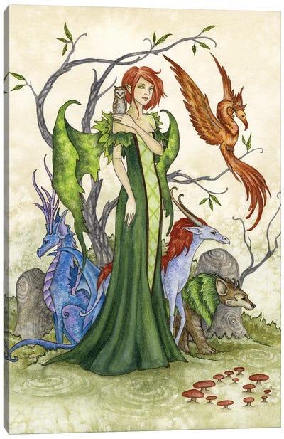 Menagerie Canvas Art Print