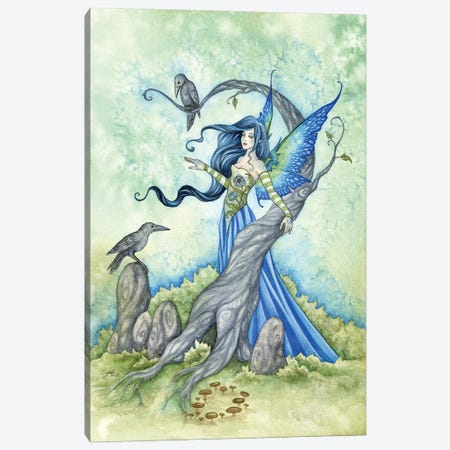 Morgan Le Fae Canvas Print #AYB17} by Amy Brown Canvas Artwork