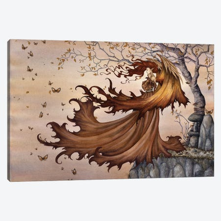 Passage To Autumn Canvas Print #AYB19} by Amy Brown Canvas Print