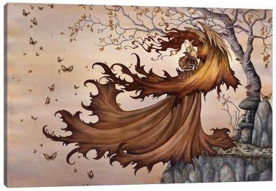 Passage To Autumn Canvas Art Print