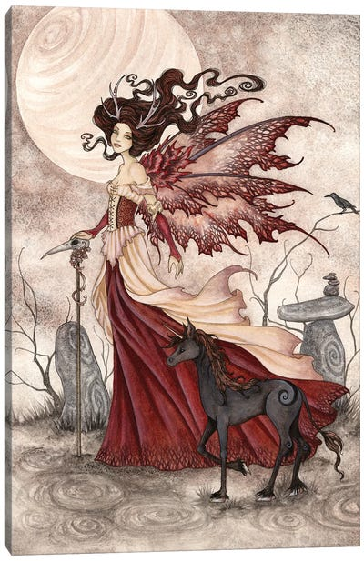 The Red Queen Canvas Art Print