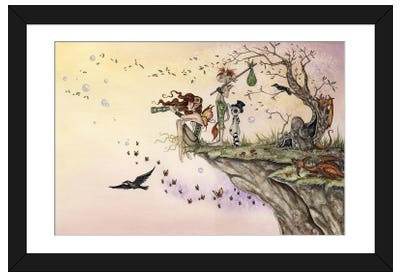 Where The Wind Takes You Framed Art Print