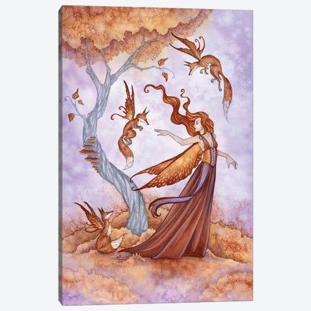 Autumn Companions Canvas Print #AYB27} by Amy Brown Art Print
