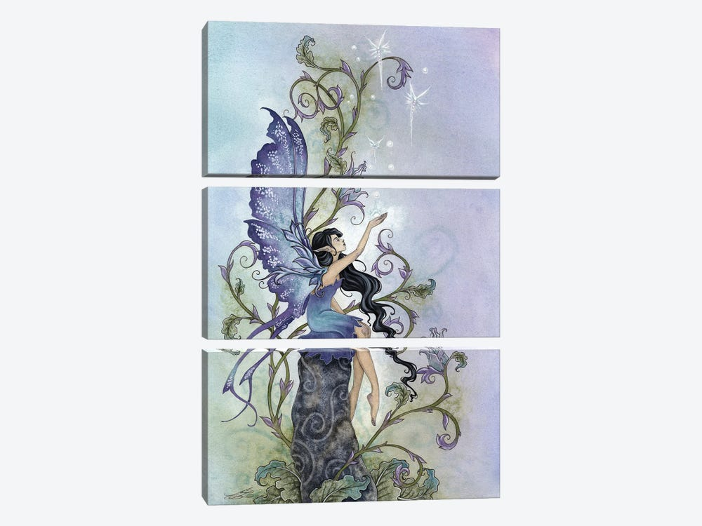 Creation by Amy Brown 3-piece Canvas Wall Art