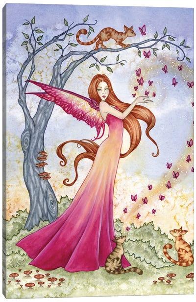 Butterfly Magick Canvas Art Print