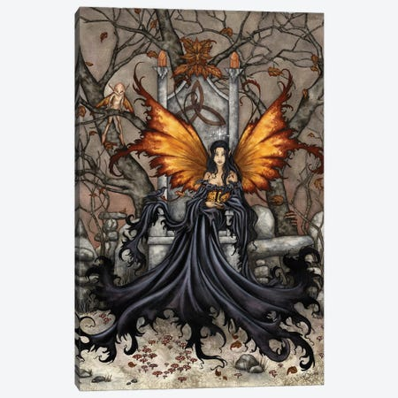 Queen Mab Canvas Print #AYB36} by Amy Brown Canvas Art