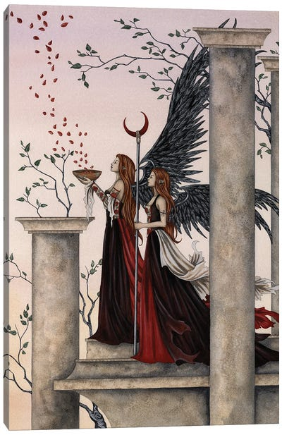 Rose Spell Canvas Art Print