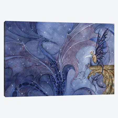 Dragon Dream Canvas Print #AYB3} by Amy Brown Canvas Print