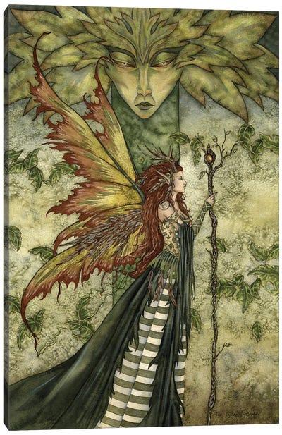 The Greenwoman Canvas Art Print
