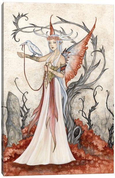 The Seeress Canvas Art Print
