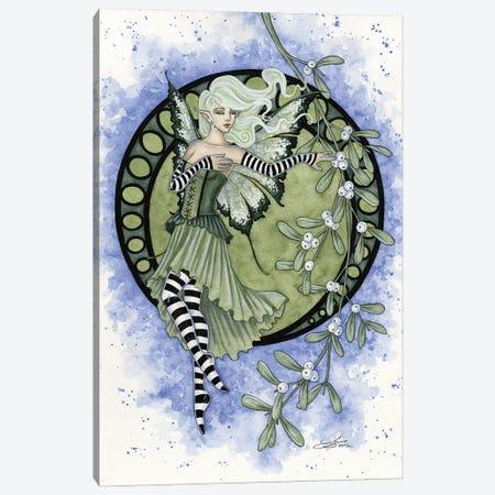 Mistletoe Canvas Print #AYB72} by Amy Brown Art Print