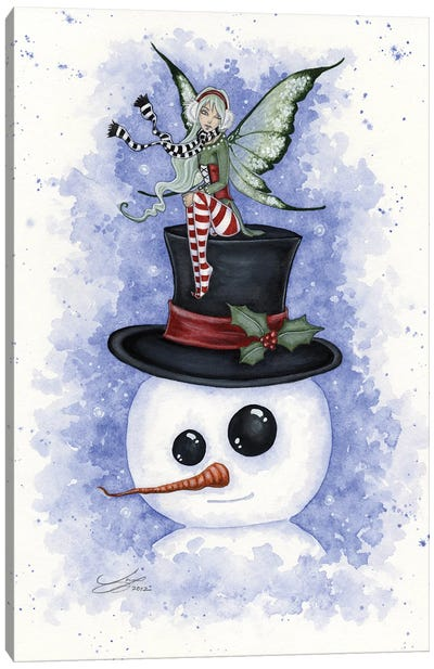 Frosty Friends Canvas Art Print