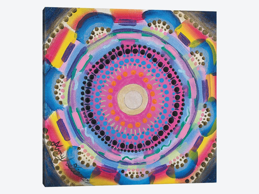Colorful Zen by Amy Diener 1-piece Canvas Artwork