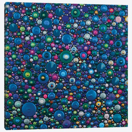 Dots Take Over The World Canvas Print #AYD31} by Amy Diener Art Print