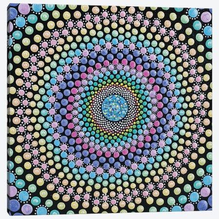 Candy Swirl Canvas Print #AYD37} by Amy Diener Canvas Wall Art